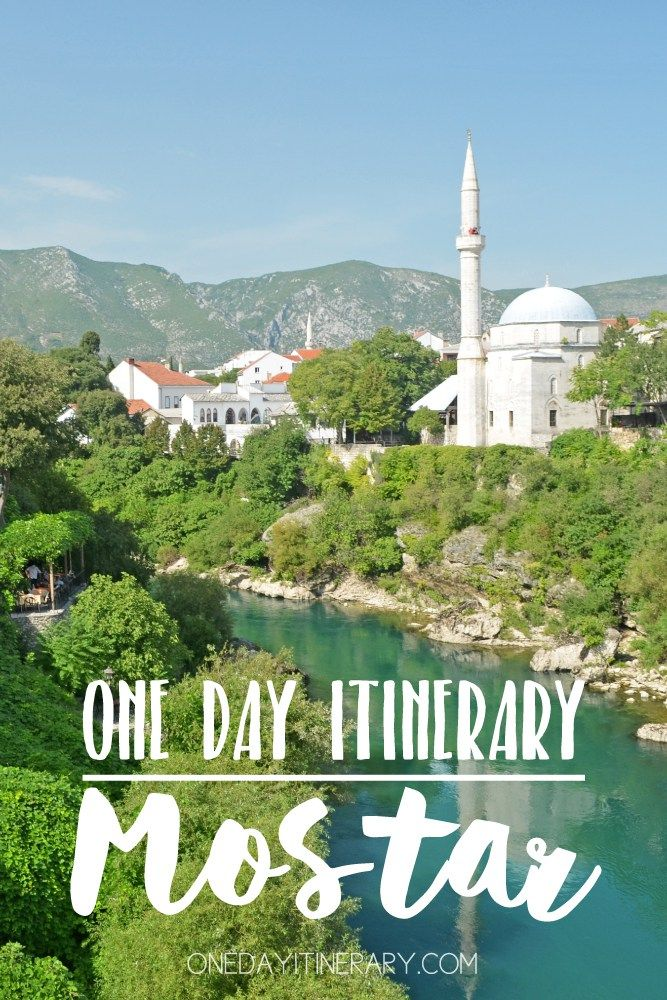 Mostar One day itinerary - Top things to do in Mostar, Bosnia and Herzegovina