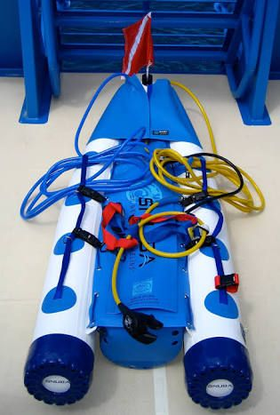 Float for diving