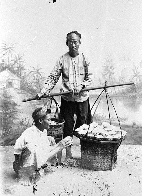 CHINESE CAKE SELLER - 1907
