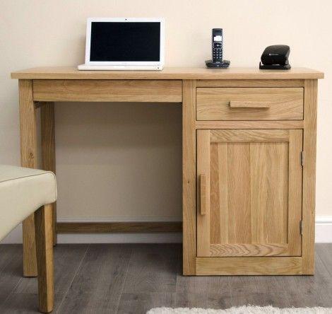 Arden Solid Oak Furniture Small Computer Desk