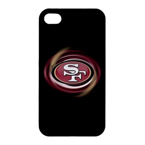 NFL San Francisco 49ers Logo iPhone 4 4s Hardshell Case Cover
