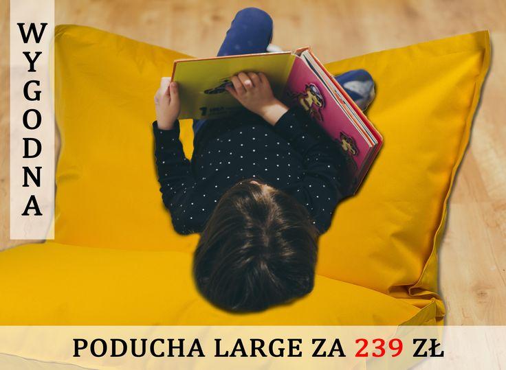 🤸♂️🤸♀️ Dzieciaki uwielbiają swobodę ruchów i miękkie siedziska❗ 👦👧  👉 Jeśli chcesz zachęcić dziecko do czytania książek 📚, kup mu wygodną Poduchę w rozmiarze Large z poliestru, 😃  👉 Poducha o wymiarach 180 / 140 cm ma wiele zastosowań❗  👁️🗨️ Zobacz galerię zdjęć i wybierz odpowiednią poduchę dla swojego dziecka!   #poduchaL #poducha #poduchadosiedzenia #pomysłnaprezent #sako #pufadladziecka #pokójdziecięcy #design #relaks