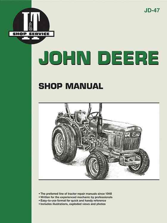 John Deere Shop Manual: Series 850, 950, 1050