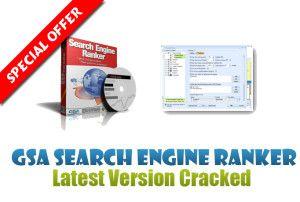 GET Free GSA Search Engine Ranker Crack 10.01