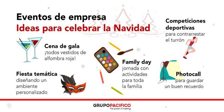 Eventos de empresa: algunas ideas para esta Navidad 🎄🎅🏻 ¿Cuál es vuestra opción favorita?
