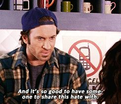 "On the meaning of true partnership: | 21 Of Luke Danes' Best Lines On ""Gilmore Girls"""