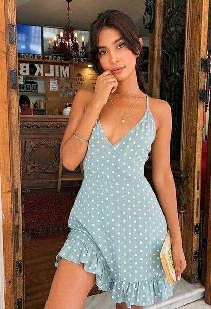 Sommer modische und lässige Outfit Modelle