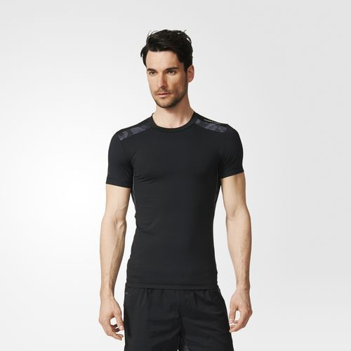 Компрессионная футболка - черный