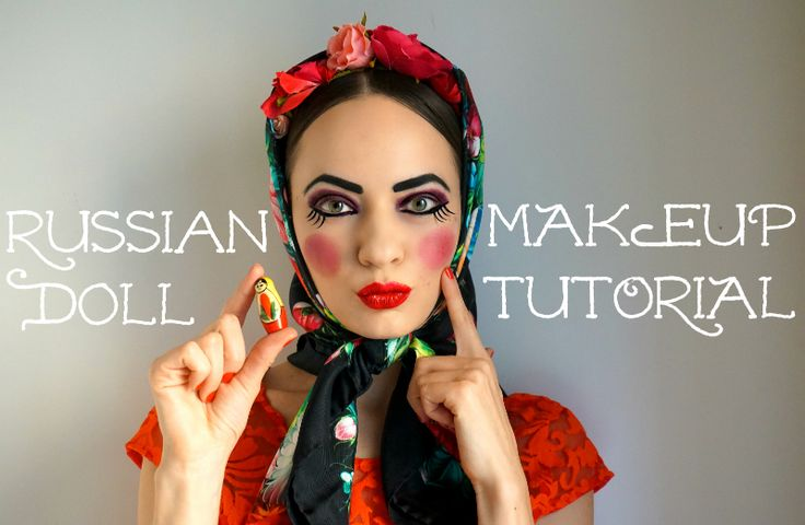 Russian Doll Halloween Makeup Tutorial   Style Sprinter