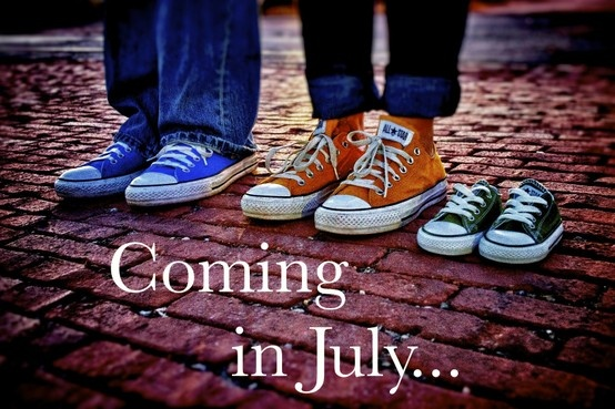 baby Oliver due July 2nd..... pregnancy announcement  #baby #announcement #pregnancy @kati monier
