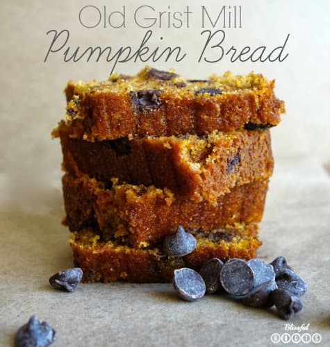 Old Grist Mill Pumpkin Bread from Blissful Roots