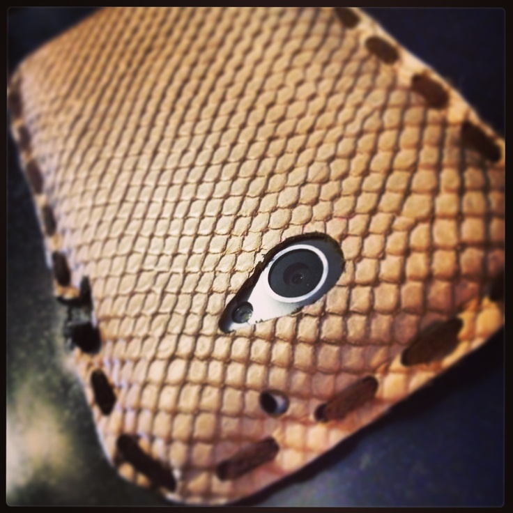 Handmade custom cover for HTC
