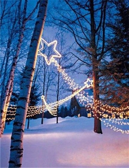 Outdoor Decorating Ideas for Christmas outside Christmas