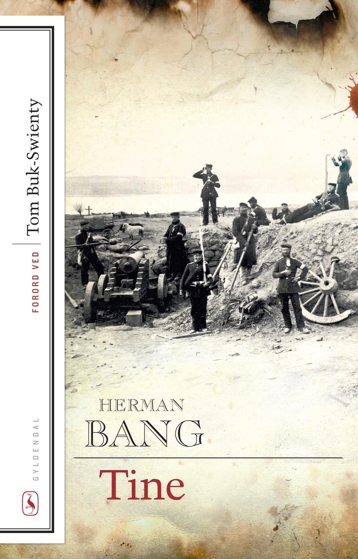 """Den historiske baggrund for """"Tine"""" er krigen i 1864, men romanen foregår ude i landet, her i en landsby på Als, hvor krigen berører de fleste. Trods de voldsomme krigshandlinger, blandt andet rømningen af Dannevirke og Dybbøls fald, handler """"Tine"""" først og fremmest om et kærlighedsforhold, som opstår på grund af krigen, og som krigen bestemmer det tragiske forløb af."""