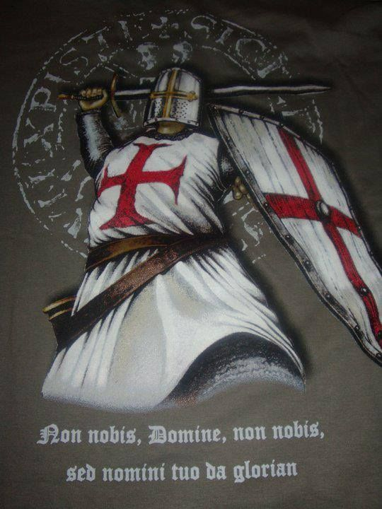 """When darkness rapes the land, the Seraphs shall purify the Templars and lead the sacred swords to victory"" - Ancient Prophecy of the Knights Templar +++nnDnn+++ I.H.S.V."