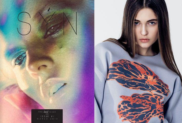 Fludra Flow Fashion SS15 photo shoot at SYN magazine photo @moonsafaripix