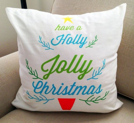 229 best Christmas Pillows images on Pinterest Christmas pillow - decorative christmas pillows