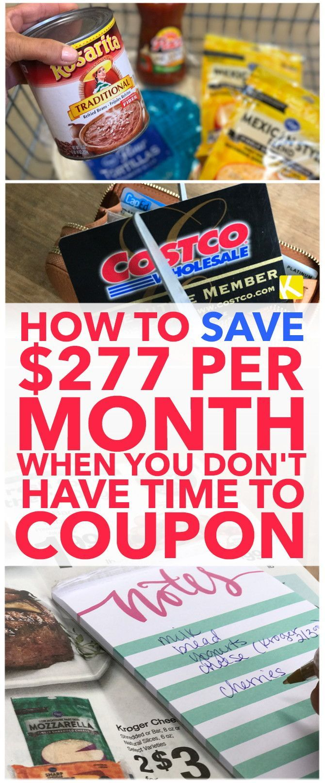 How to Save $277 per Month When You Don't Have Time to Coupon