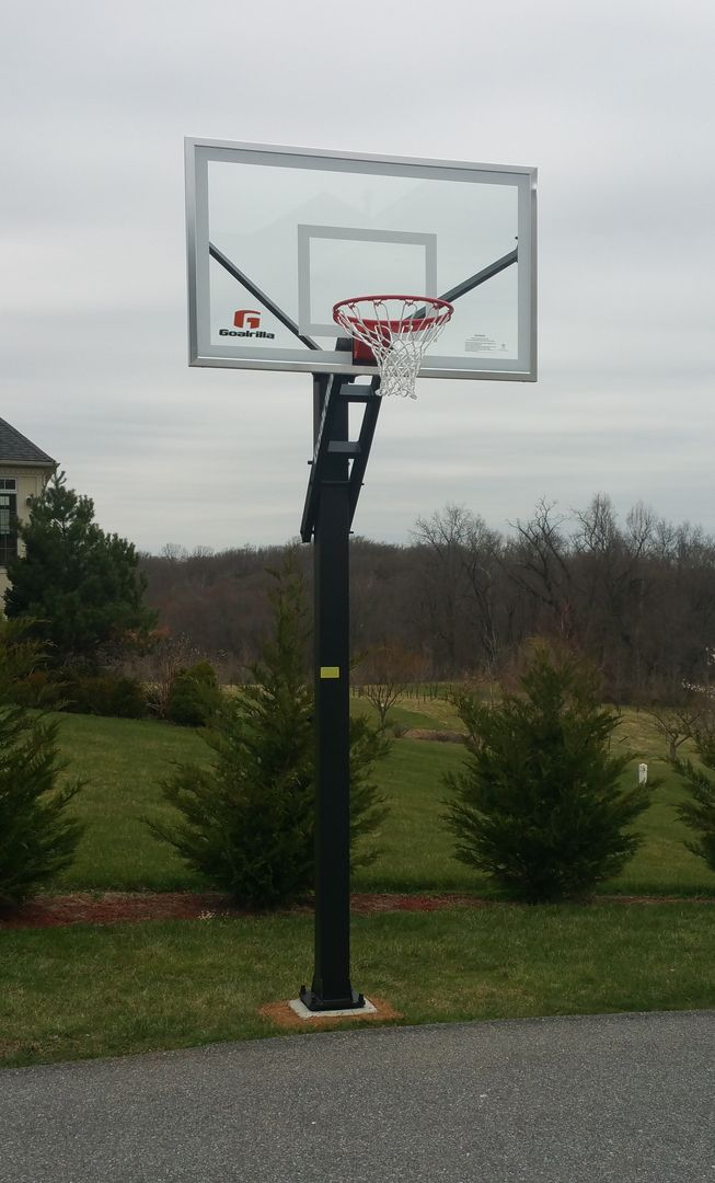 Pin On Local In Ground Basketball Hoop, In Ground Basketball
