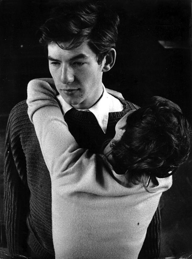 Soooooo Sir Ian McKellen was a total babe...------37 Vintage Photos Of Sir Ian McKellen