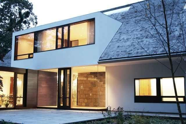 Architecture by Julian King Architects. Floating dormer