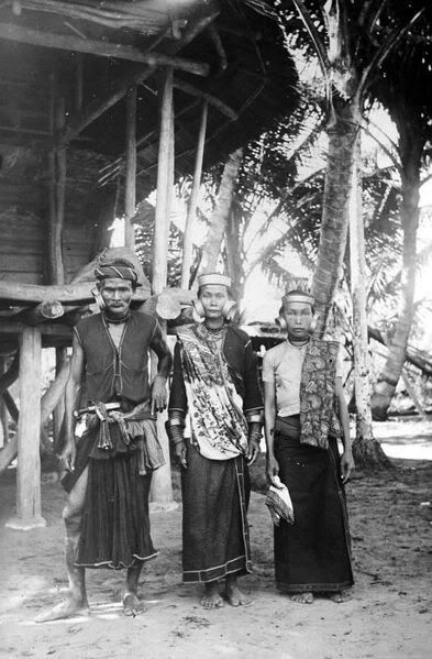 Indonesia, Ancient Nias people ~ Nīas (Indonesian: Pulau Nias, Nias language: Tanö Niha) is an island off the western coast of Sumatra, Indonesia. Nias (Kepulauan Nias) is also the name of the archipelago, including the small Hinako Islands.