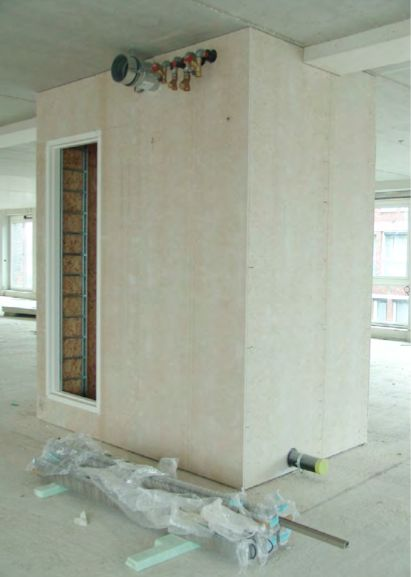 Preview before fit-out instalment