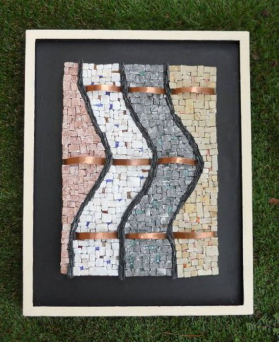 29 best contemporary mosaic art images on pinterest mosaic mosaic art and mosaics. Black Bedroom Furniture Sets. Home Design Ideas