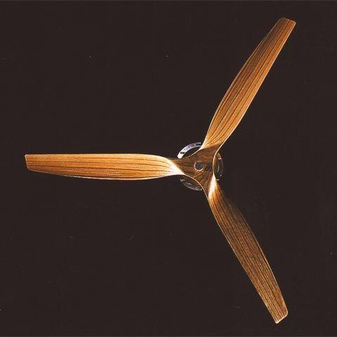 Boffi Minimal GRCB02 Deckenventilator naturholz