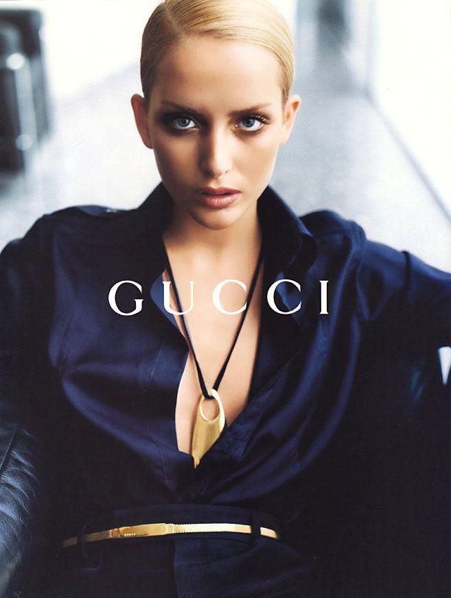 Georgina Grenville for Gucci, Fall/Winter 1996