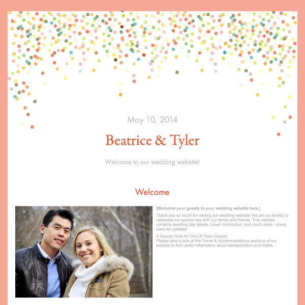 25 Best Images About Wedding Website Designs On Pinterest