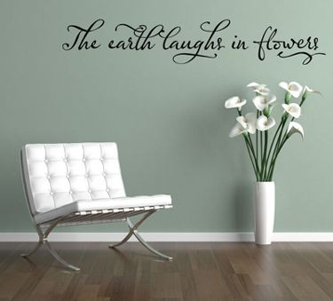Earth Laughs   Wall Decals - Trading Phrases