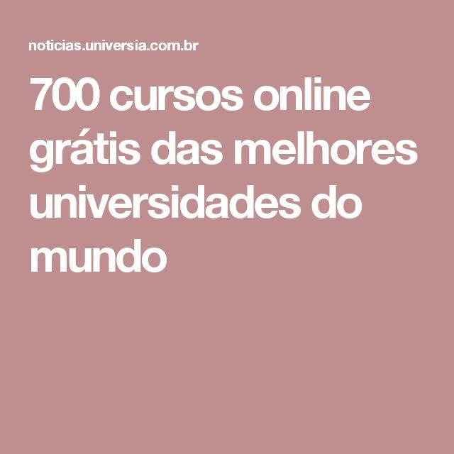 700 cursos online grátis das melhores universidades do mundo