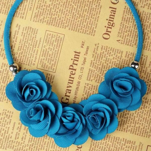 17 mejores ideas sobre Collar De Flores De Tela en Pinterest