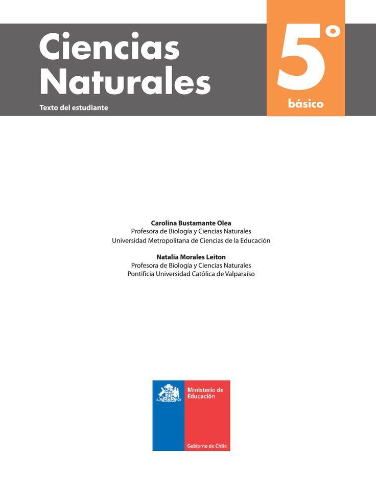 Ciencias naturales 5° b´saico