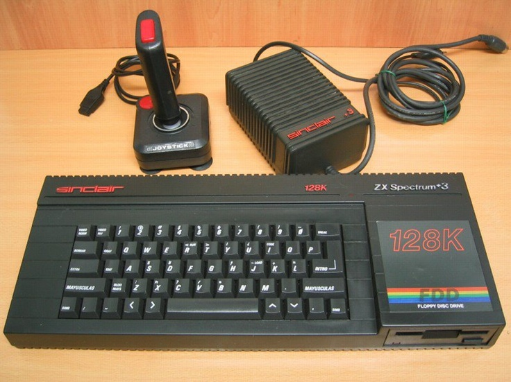 Spectrum Sinclair ZX - my Dad had one of these! I used to love playing Sabatour on it the most!