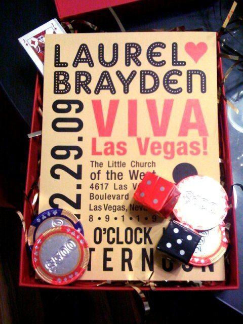 17 Best ideas about Vegas Wedding Invitations – Las Vegas Wedding Invitation Ideas