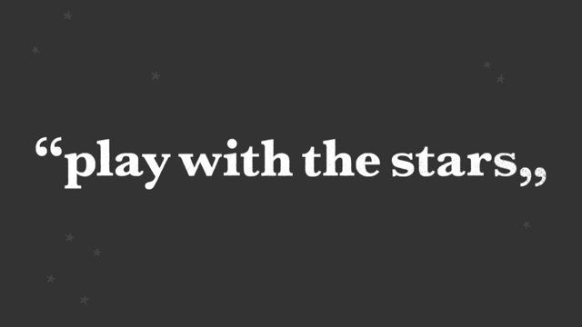 Play with the stars! #Nidi #Juma