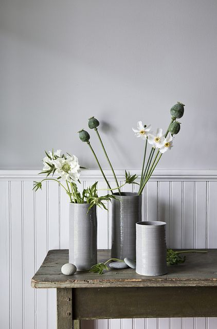 Grey and green