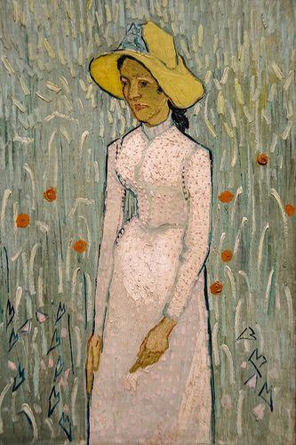 Girl in White, 1890 - Vincent Van Gogh