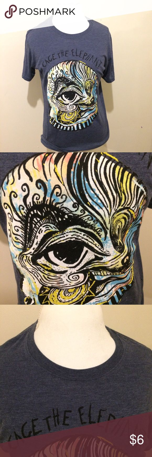 Cage the elephant medium graphic t shirt No flaws!  Fast shipping!  No trades please!  Save 10% on all bundles!  Make me an offer!  Shirts Tees - Short Sleeve