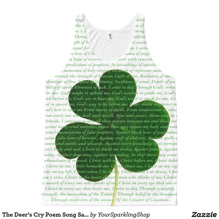 The Deer's Cry #Hymn Song Saint Patrick Shamrock #stpatricksday #shirt