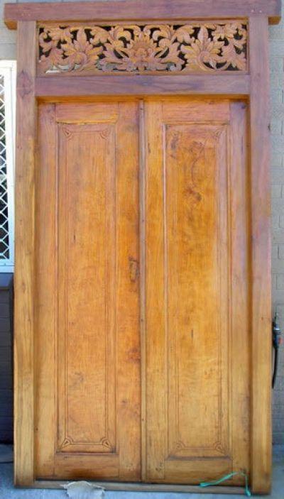 Carved Bali Gates & 205 best Bali Doors \u0026 Entrances images on Pinterest | Entrance ... Pezcame.Com