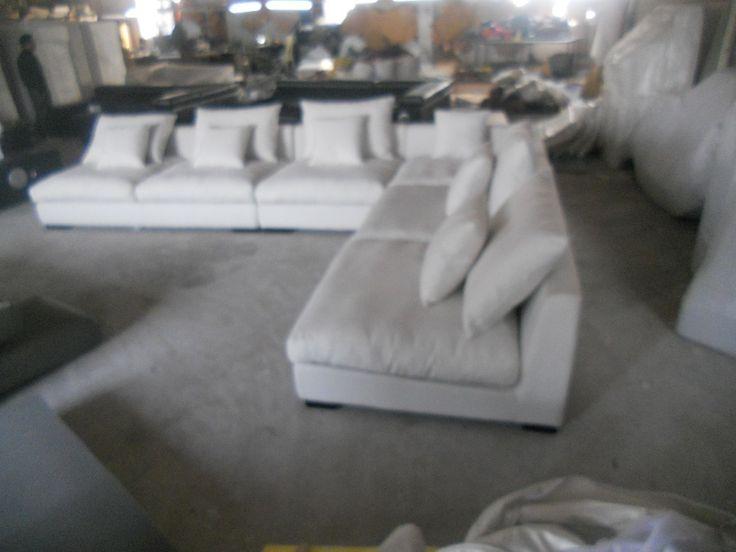 8611 Ткань диван мебель для гостиной, наборы диван, мебель для дома секционный диван наборы белый цвет перо внутрикупить в магазине JIXINGE SOFA and BEDнаAliExpress