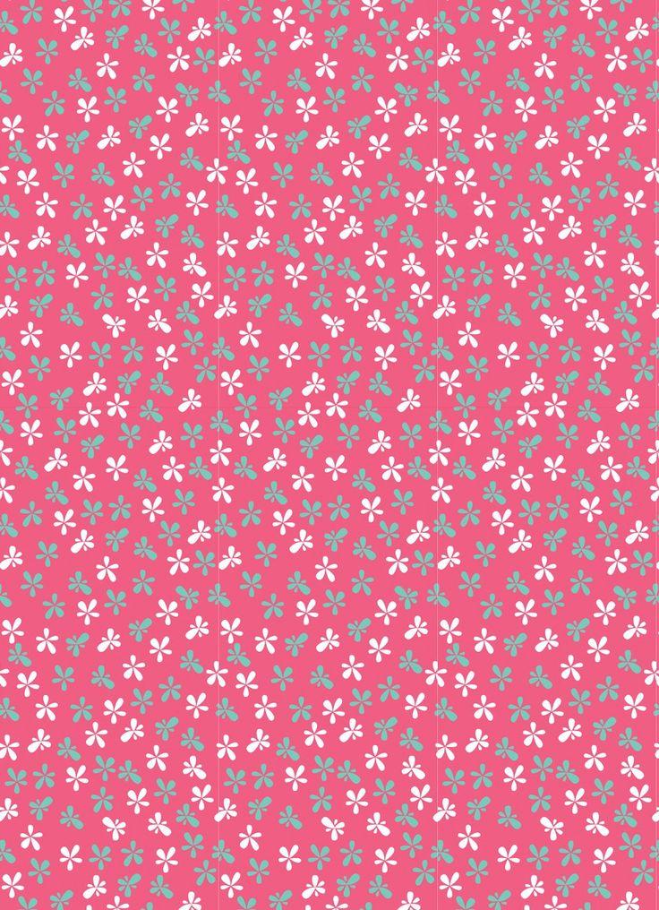 Pink flowers wallpaper #Wallpaper #Background