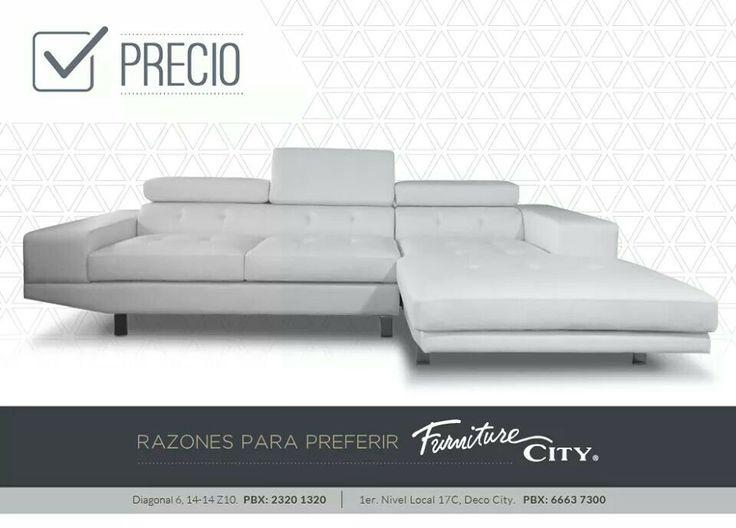 Razones para prefeir Furniture City: PRECIO En Furniture City lo mas importante son nuestros clientes, por eso ofrecemos un servicio personalizado, productos de la mejor calidad,  diseños unicos y precios incomparables.