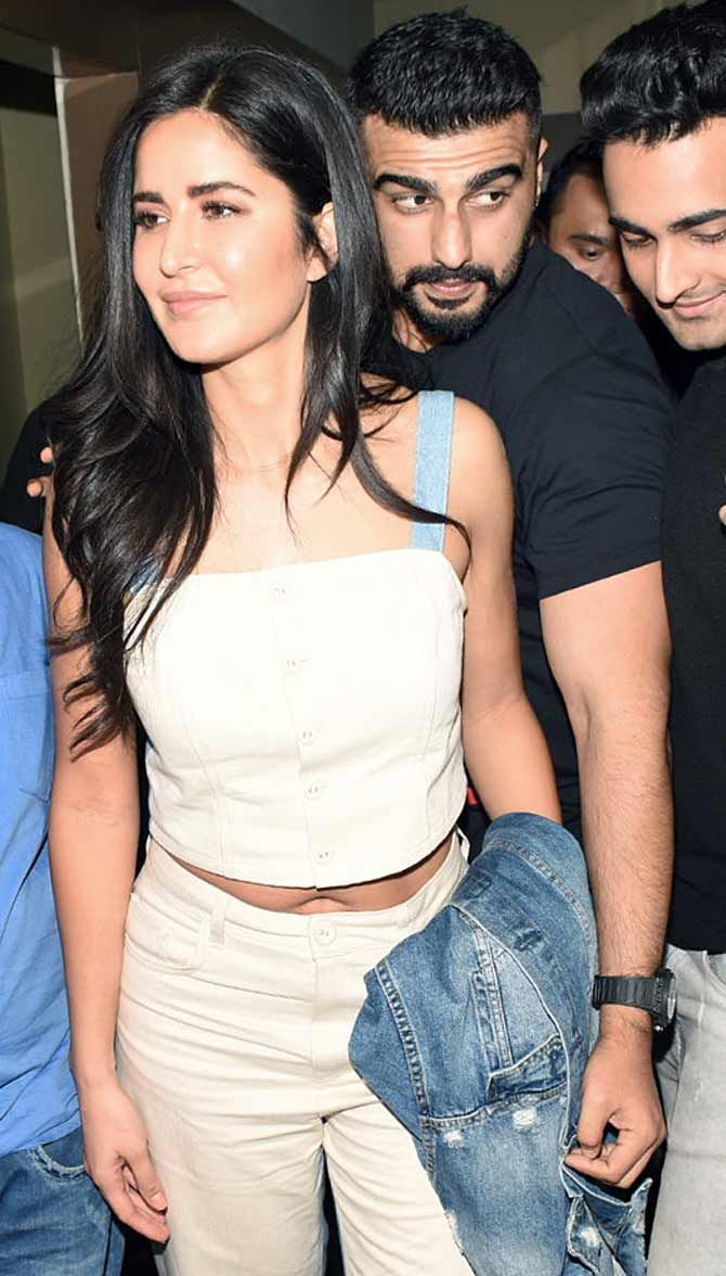 Katrina Kaif, Arjun Kapoor in 2020 | Bollywood actress hot ...