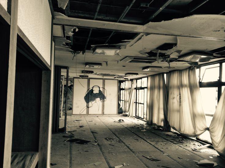 廃墟 芥屋ビーチホテル08 廃墟 ビーチ ホテル