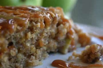 Epicurious Spiced Apple Cake Eggnog