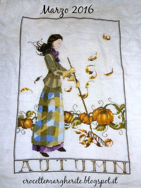 Crocette e Margherite: Finito!!! Autumn in my Garden Mirabilia!